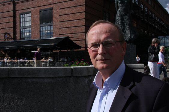 Ludvig Egeland, styreleder i Eramet Norge. Bildene er tatt 1. september 2010 på Aker Brygge i forbindelse med et inngangsintervju til TU33.