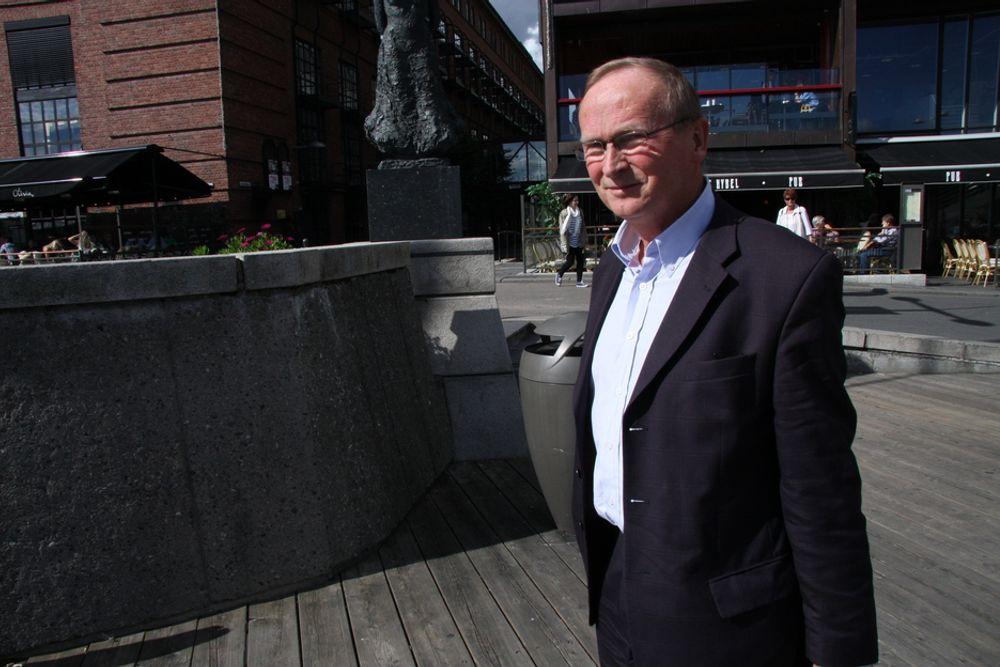 SKJEBNEFELLESSKAP: Kraftkrevende industri og kraftprodusentene burde klare å samarbeide, siden de er gjensidig avhengige av hverandre, mener Eramet Norges styreleder, Ludvig Egeland.