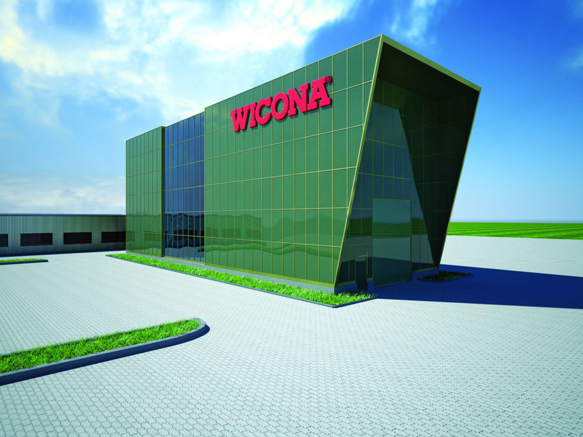 STORT: Wiconas testsenter i Tyskland bruker mindre energi enn det produserer.