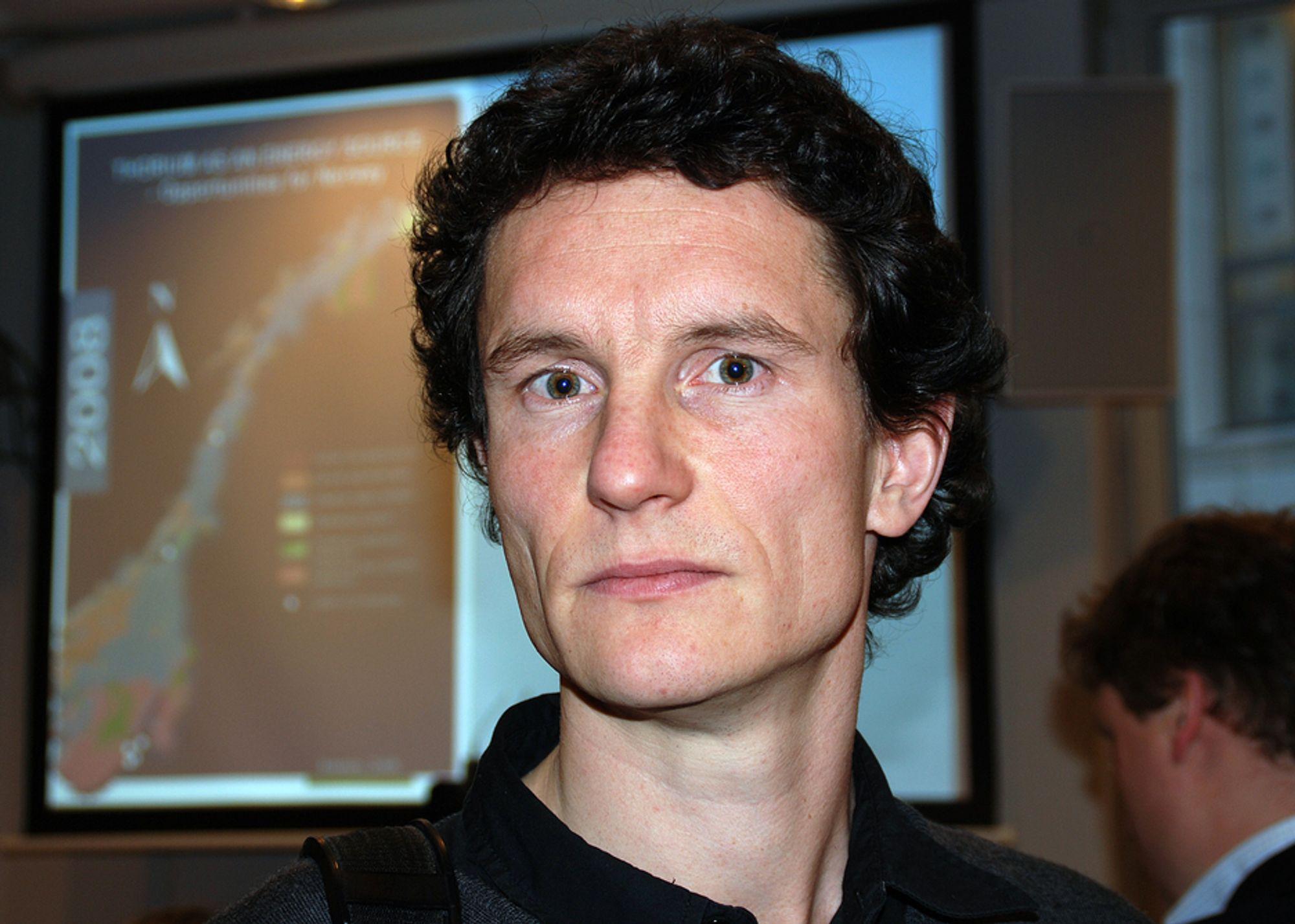 Leder i Greenpeace Norge, Truls Gulowsen.
