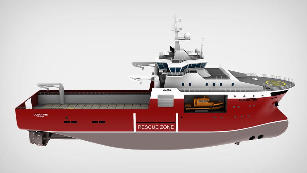TRANGT: Beredskapsfartøyet Statoil skal bruke har plass til 370 personer om bord. Alle får plass inne i skipet, i henhold til krav og regelverk.