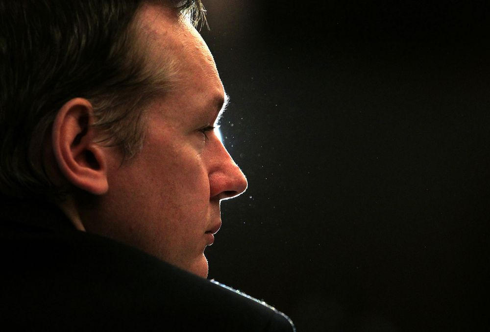 MØTER IKKE: Wikileaks-gründer Julian Assange har ikke oppgitt noen grunn til at han likevel ikke møter opp på Cebit-messen i Hamburg i mars neste år.