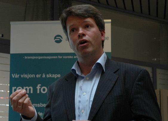 Næringspolitisk direktør Audun Lågøyr i BNL