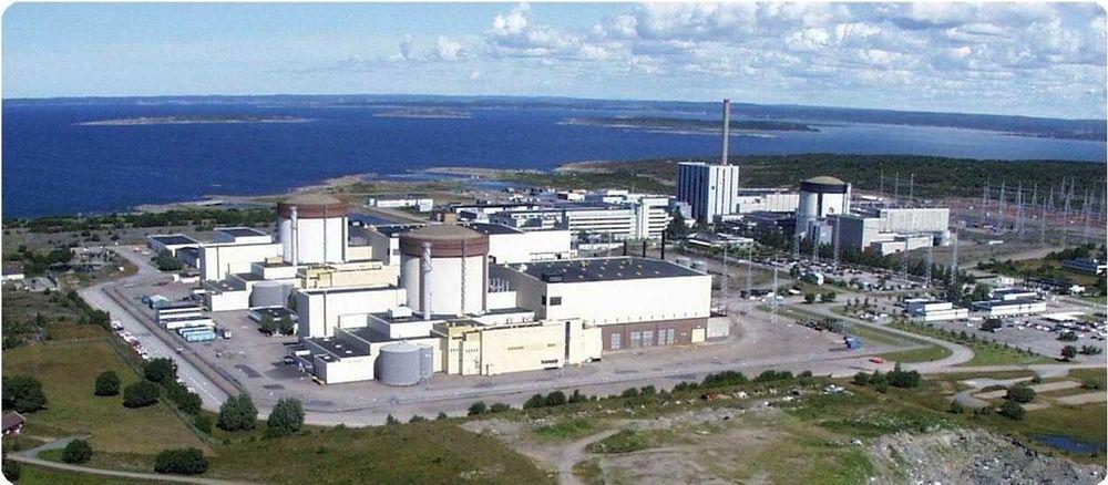 ROBUSTE: Alle de elleve svenske kjernekratverkene tåler en flystyrt. FOTO: RINGHALS AB