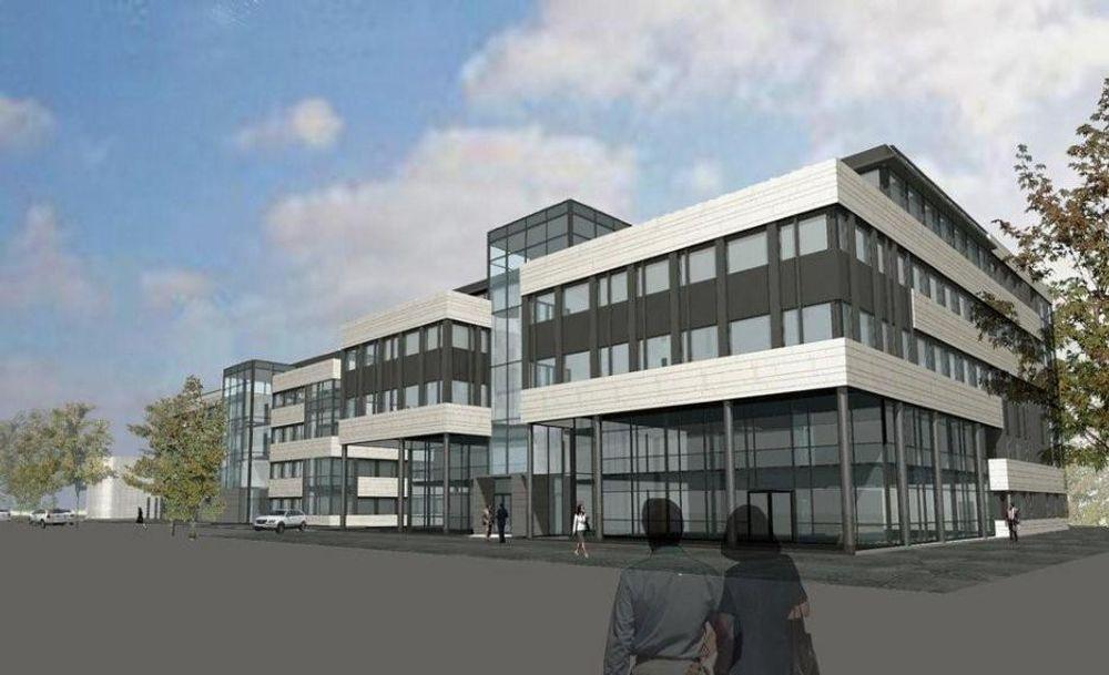 Veidekke skal bygge nytt kontorbygg på Bryn i Oslo.