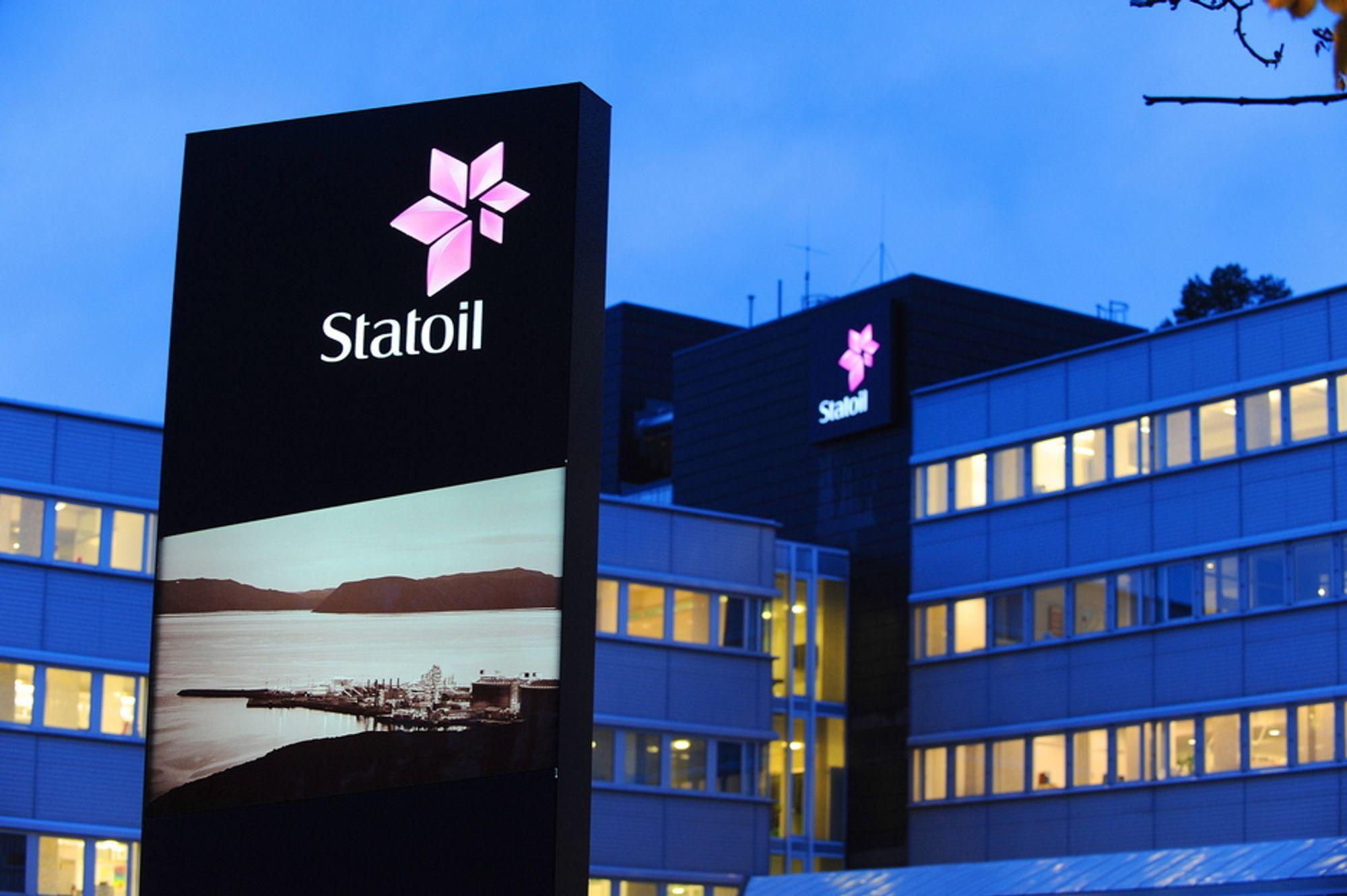 UTVIKLING: Frontene står mot hverandre i Statoil.