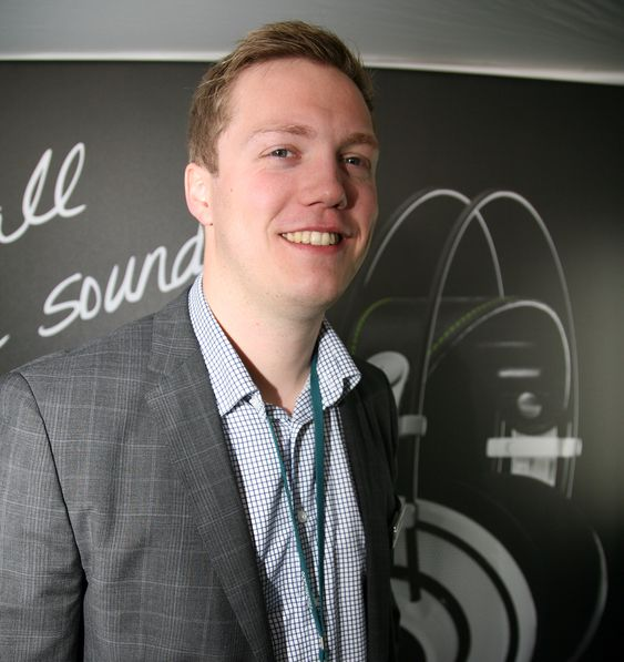 Fredrik Johnsen, produktsjef i Harman/Neby.
