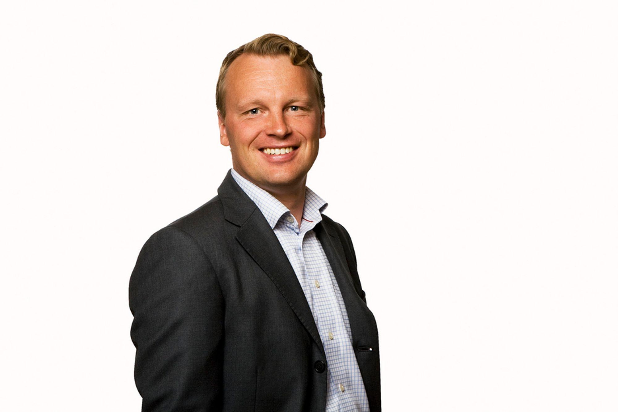 RACER:Teknisk direktør i NetCom, Jon Christian Hillestad kan glede 3G-surferne med betydlig høyere hastighet.