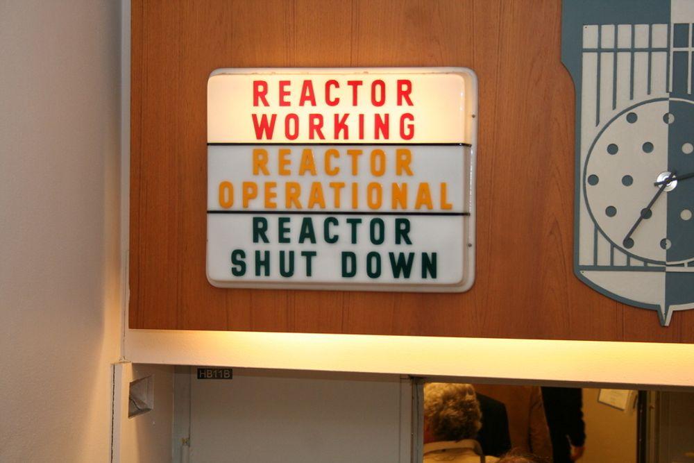 AVFALL I FJELL? Det beste alternativet for mellomlagring av radioaktivt avfall er å bygge et fjellanlegg ved Halden-reaktoren, foreslår utvalg.