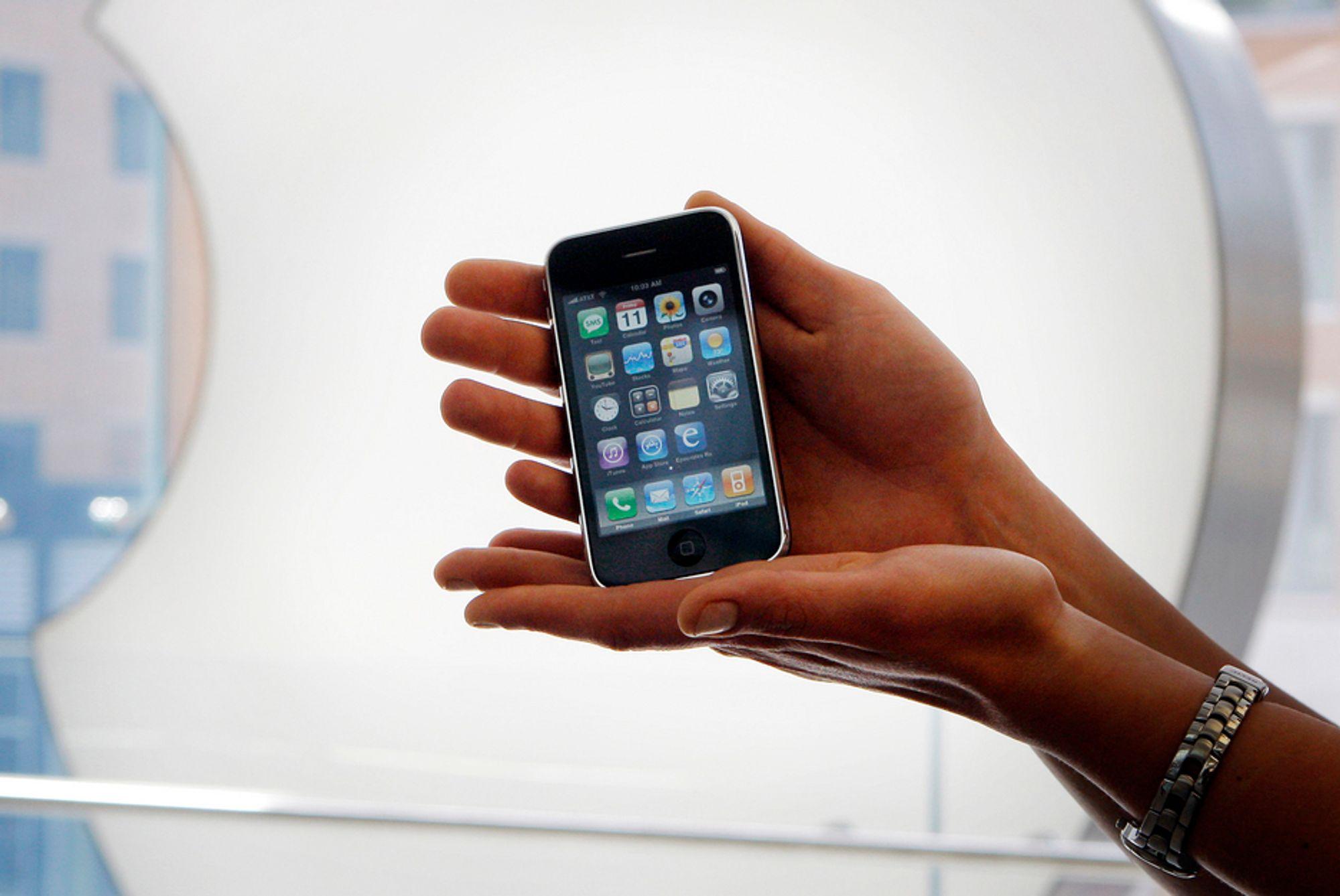 Telenors iPhone prises omtrent likt med Netcoms iPhone.