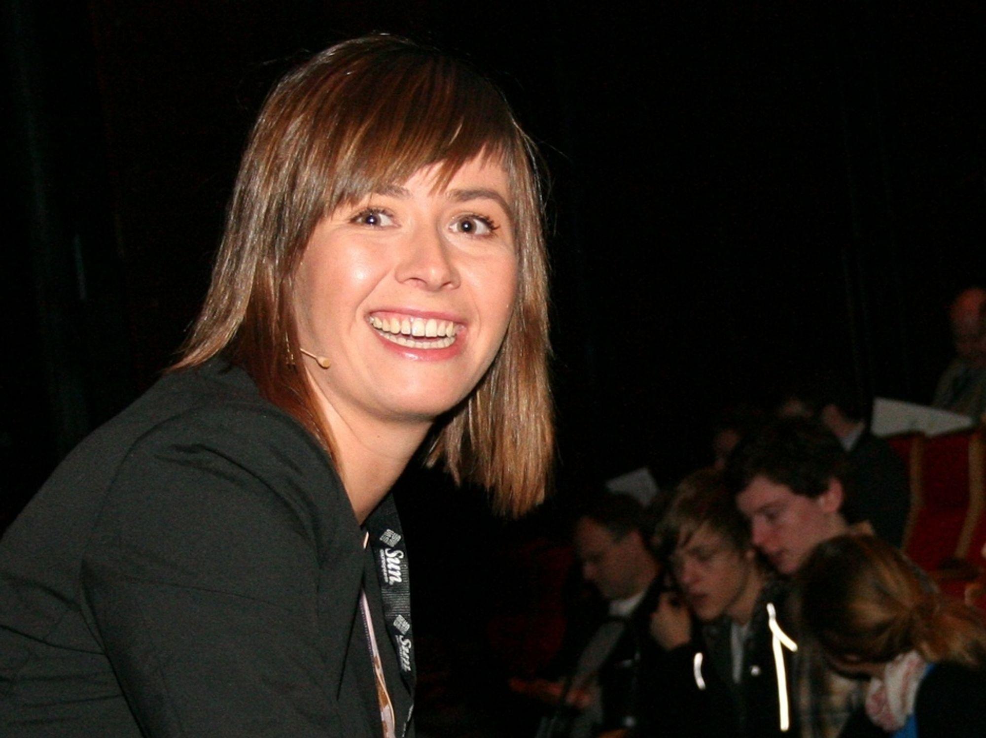 Friprogsenterets leder Heidi Arnesen Austlid mener fri programvare bør vurderes også for det norske politiet.