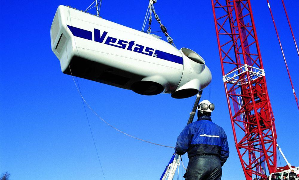 Foto med tillatelse fra Vestas Wind Systems AS