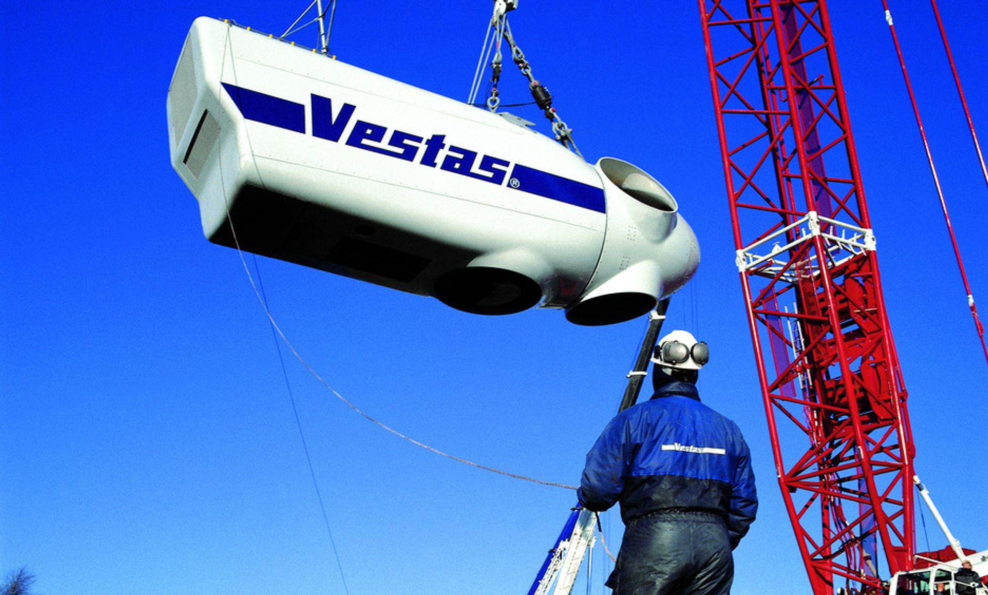 NED: Vestas går med minus, og har forsinkelser i ordreboka. Det gir nedbemanninger.