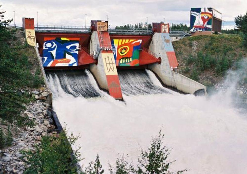 Kanskje bli norske kraftverk seende ut som Vattenfalls Akkats vattenkraftverk utenfor Jokkmokk, hvis selskapet får anledning til å leie norsk vannkraft i en periode på 50 år.