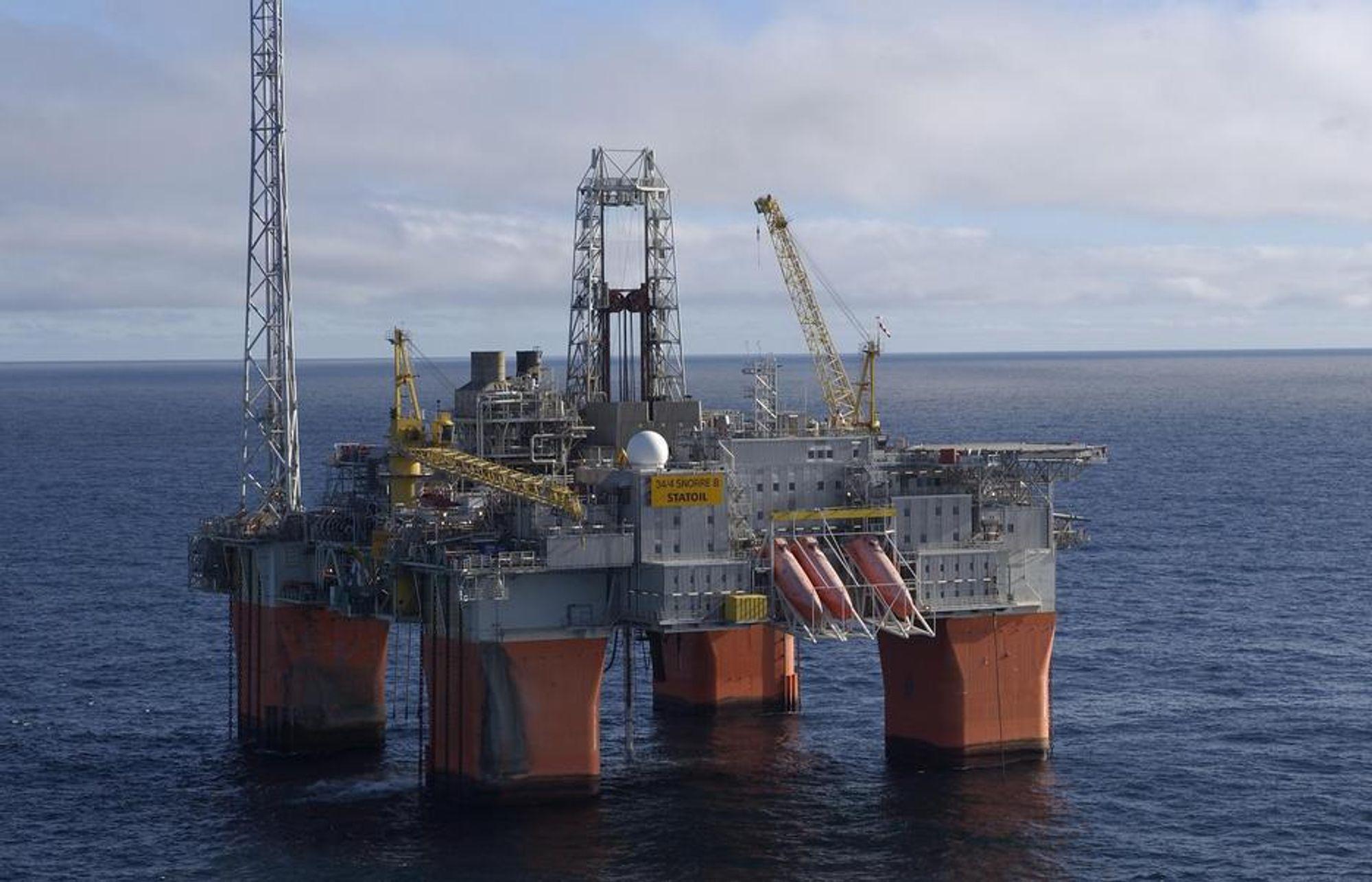BYTTES: Tre stigerøer som går mellom to undervannsinstallasjoner og Snorre B må byttes ut etter skader.