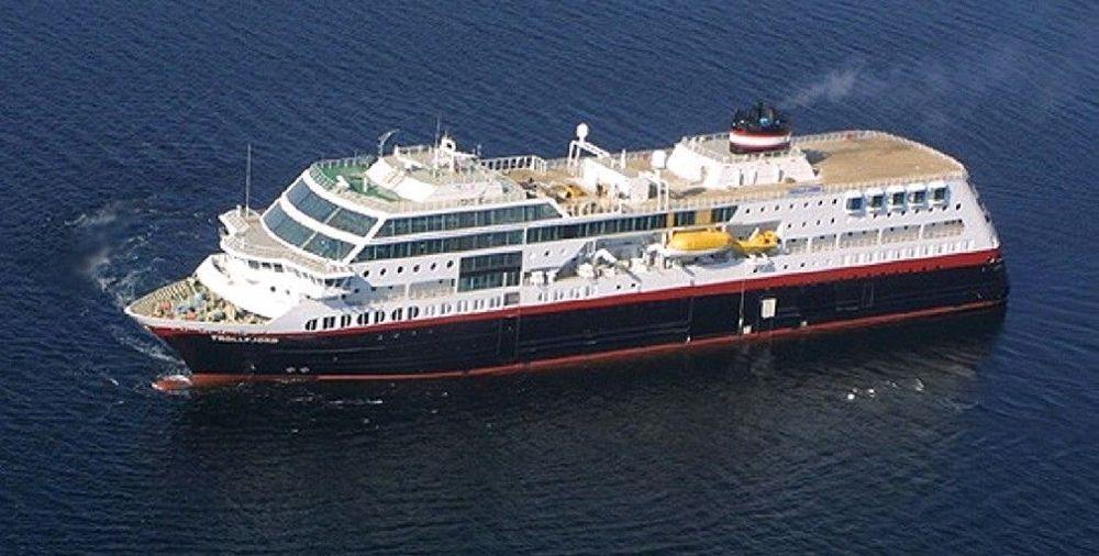 MS Trollfjord og andre skip som trafikkerer norskekysten i nord skal overvåkes fra Vardø.
