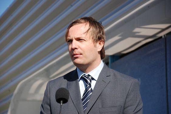 Einar Håndlykken Zero. Åpning av StatoilHydros hydrogenstasjon på Økern i Oslo 110509.