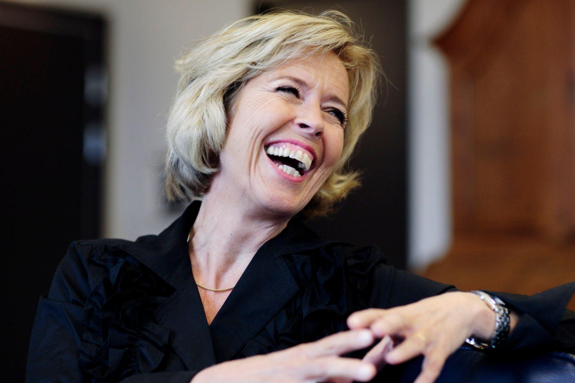 - Det ble en veldig bratt læringskurve, sier Anne-Grethe Strøm-Erichsen om overgangen fra lokalpolitiker til sjef for Forsvarsdepartementet. Alle