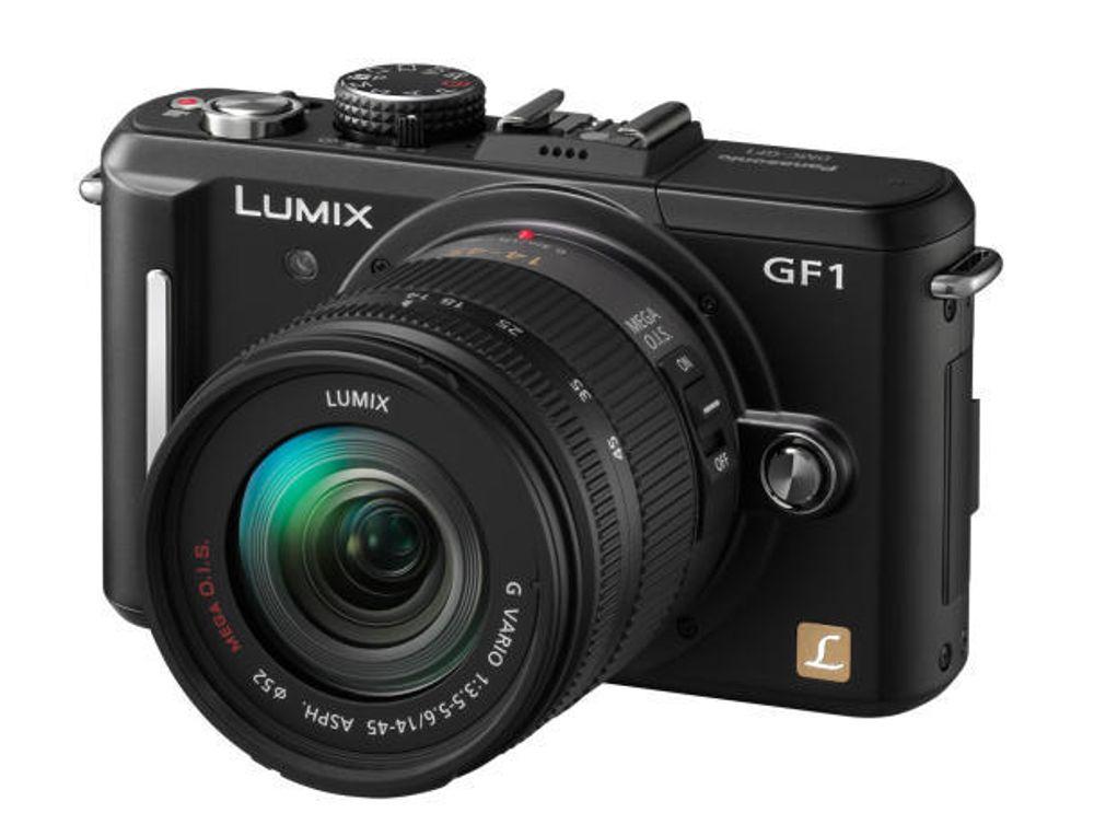 Panasonic GF-1 blir et alternativ til kompaktkameraene.