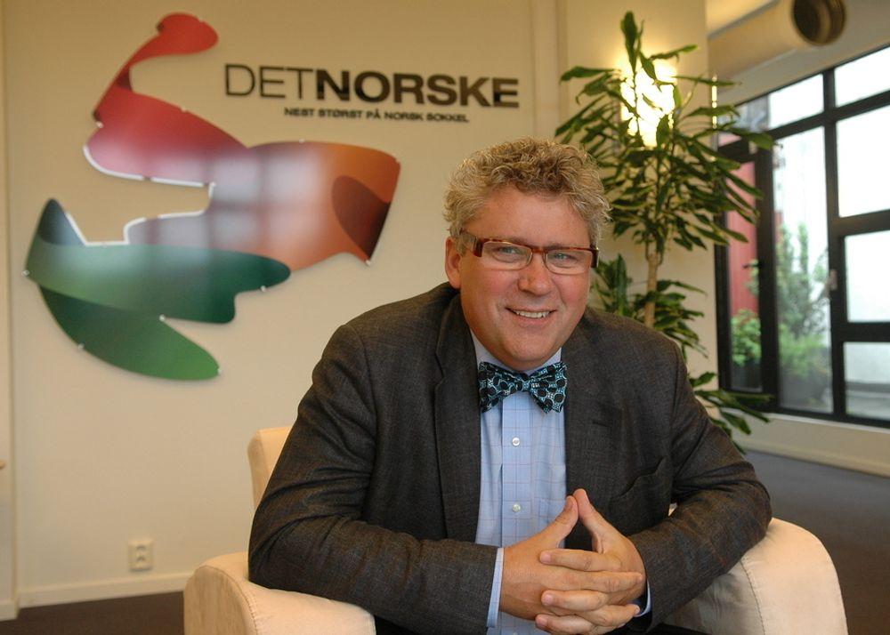 Det Norske-sjef Erik Haugane, som har 30 prosent eierandel i Grevling-lisensen, mener funnet er oppløftende.