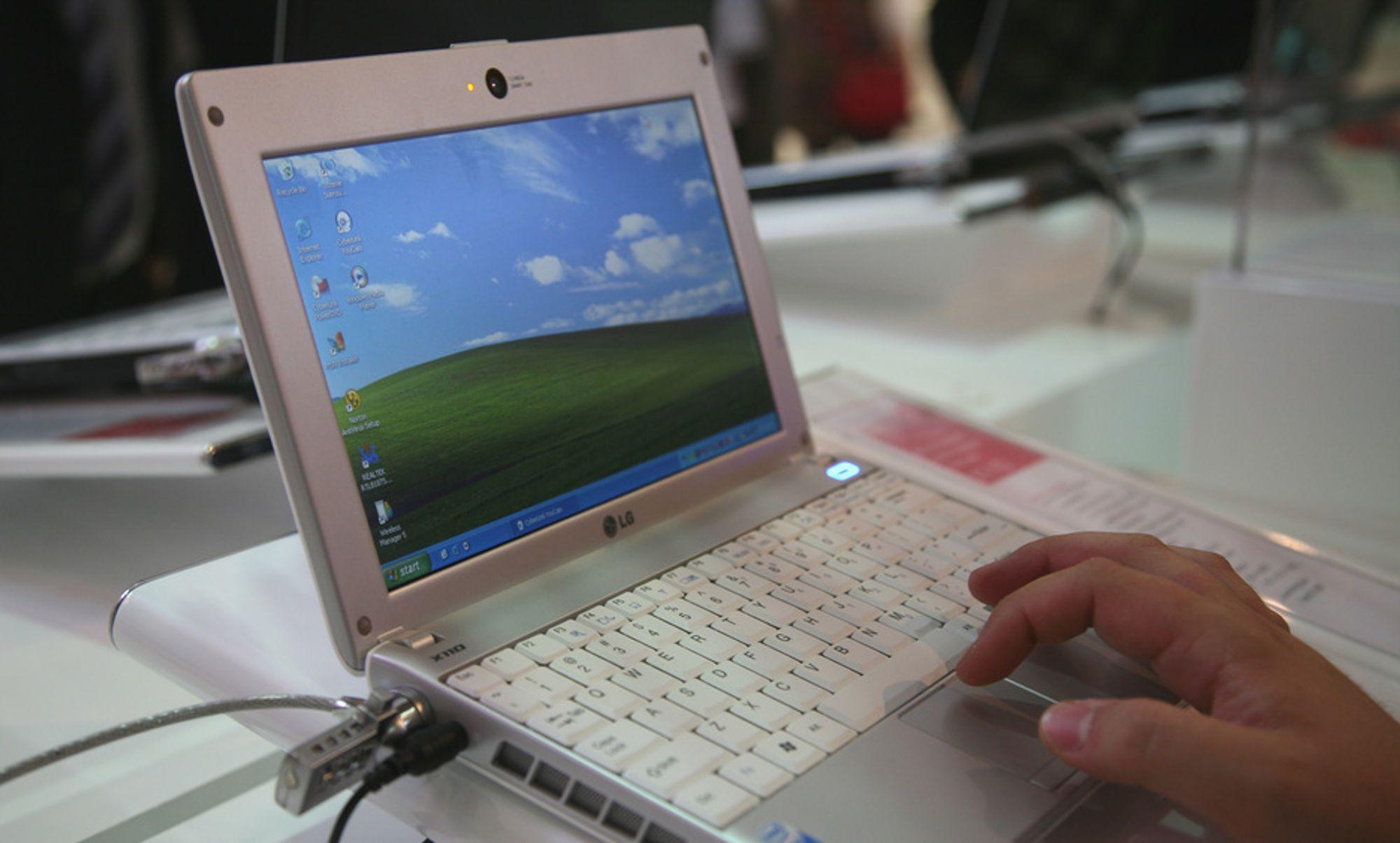 IFA: Slik ser den ut - LGs mini-laptop X110, som har innebygget 3G.