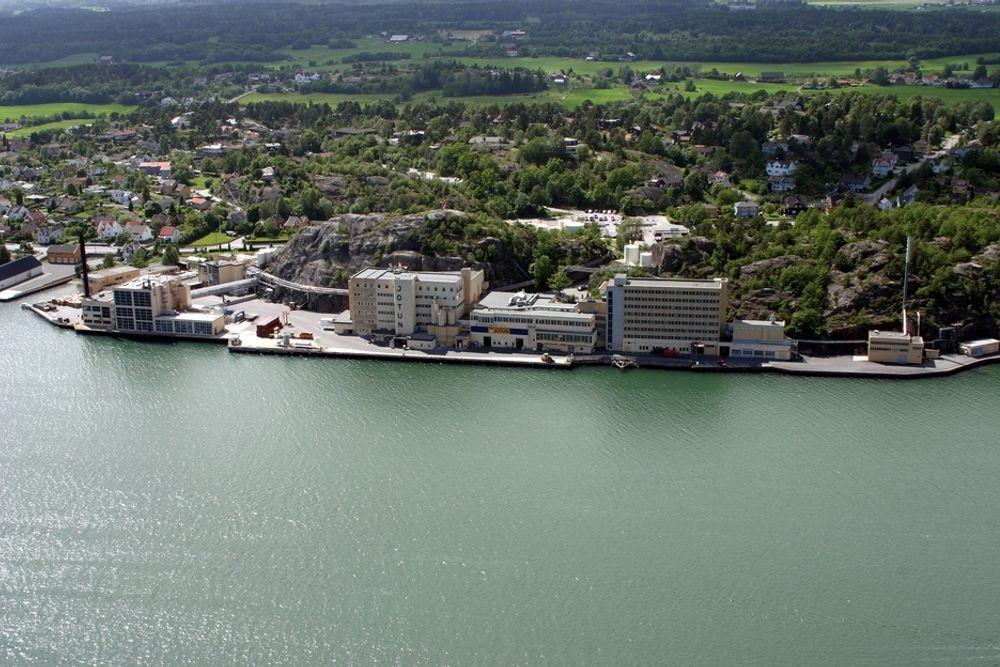 Jotun skal sentralisere driften her i Sandefjord.
