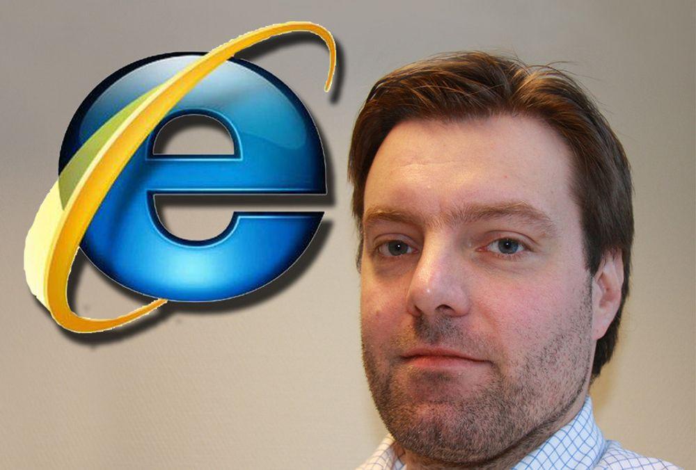 Staten må si nei til IE6-brukere