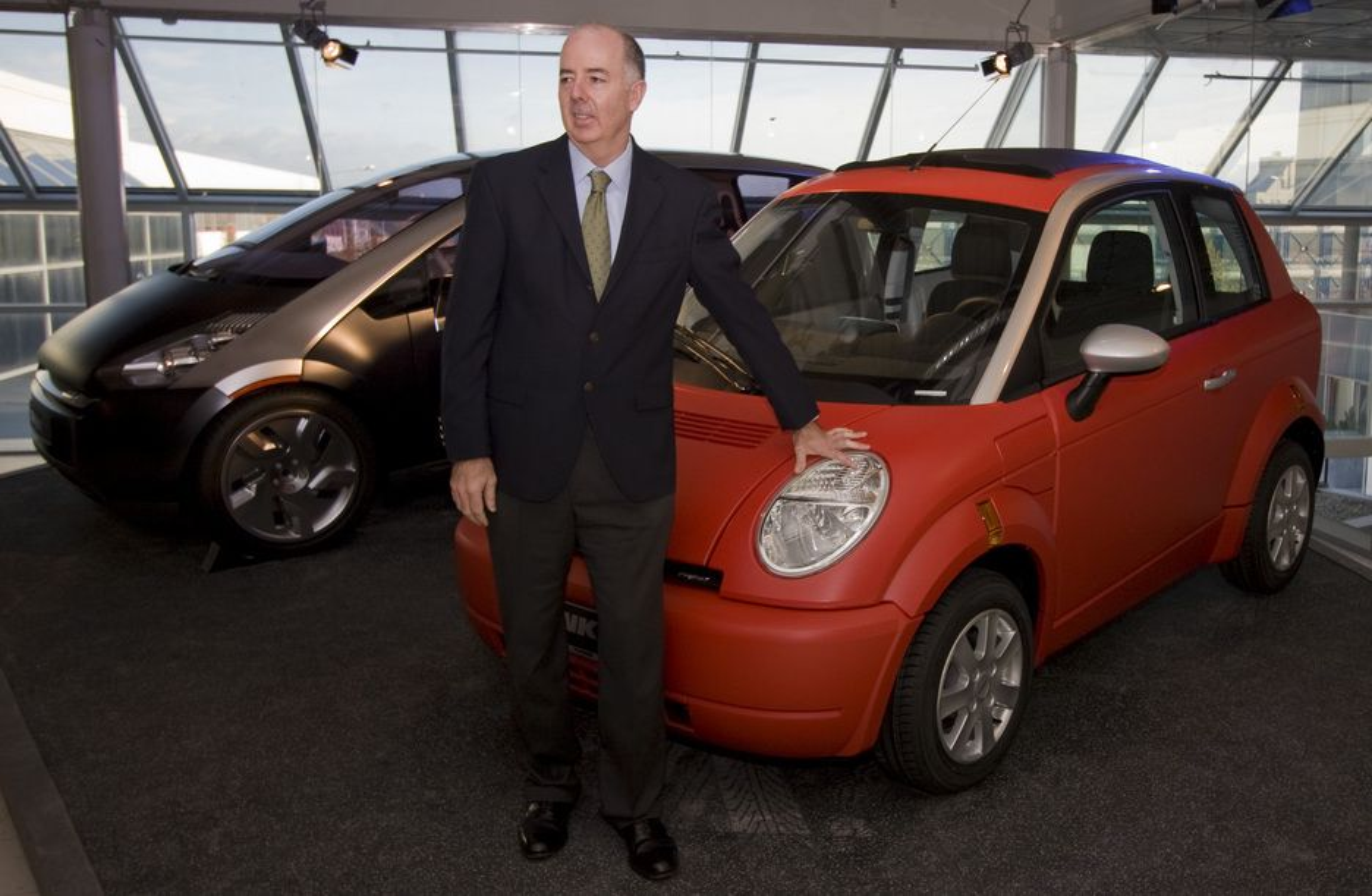 Think-sjef Richard Canny har stor tro på effekten av å knytte tettere bånd til EnerDel og Valmet Automotive.