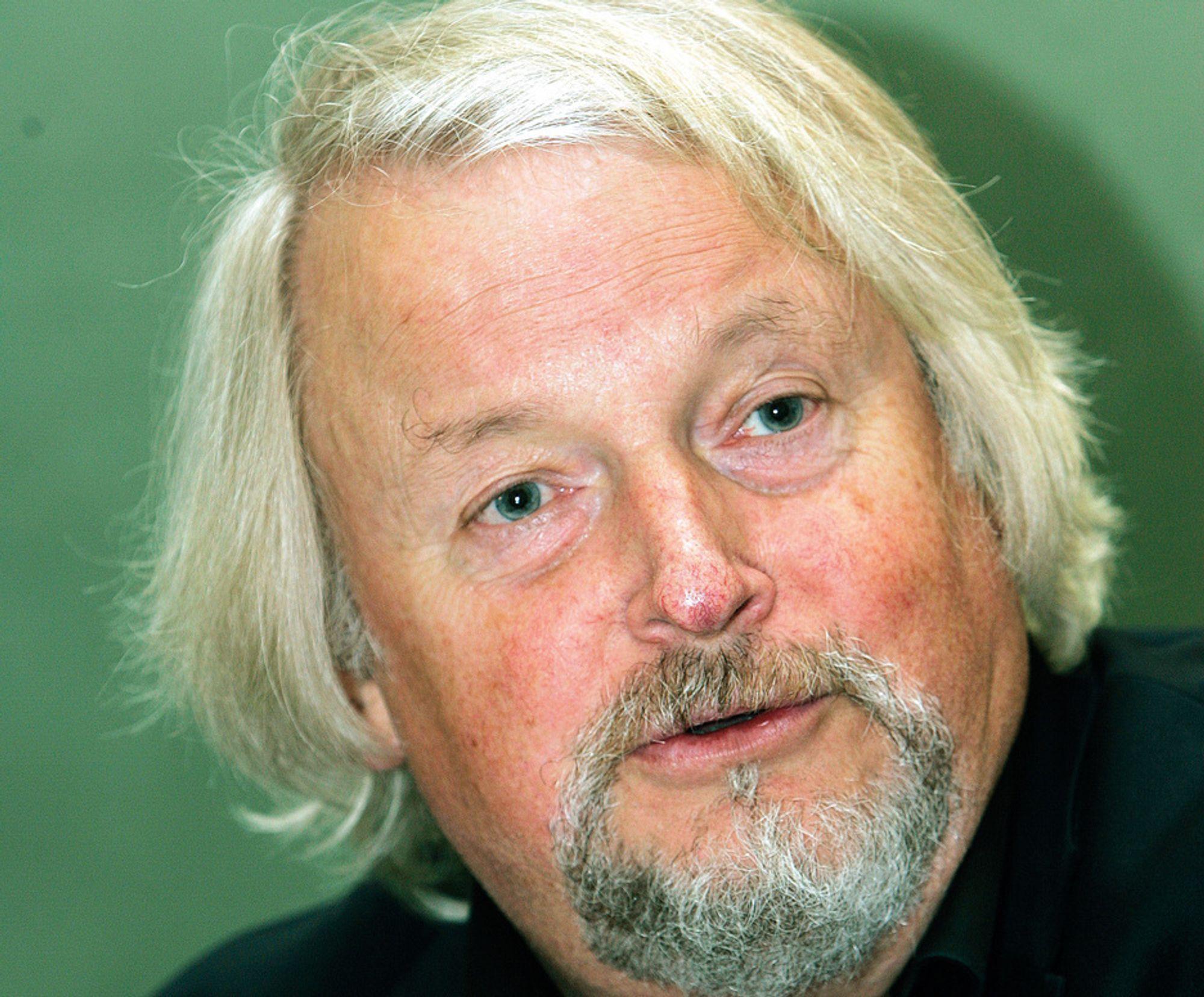 Per Edgar Kokkvold, generalsekretær i Norsk Presseforbund.