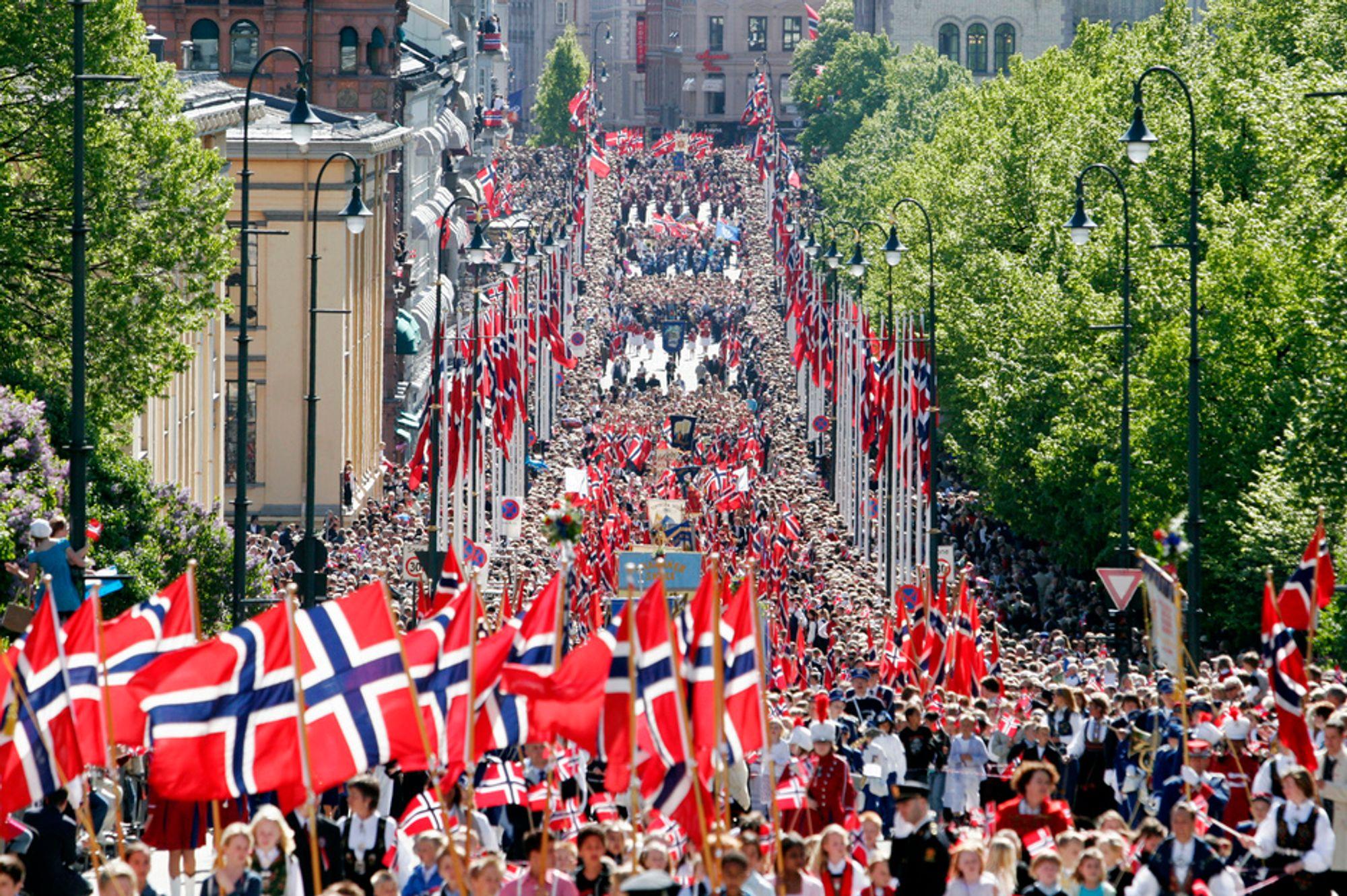 LØNN: Et sosialdemokratisk drømmeland. Slik er dommen dagen etter 17. mai.
