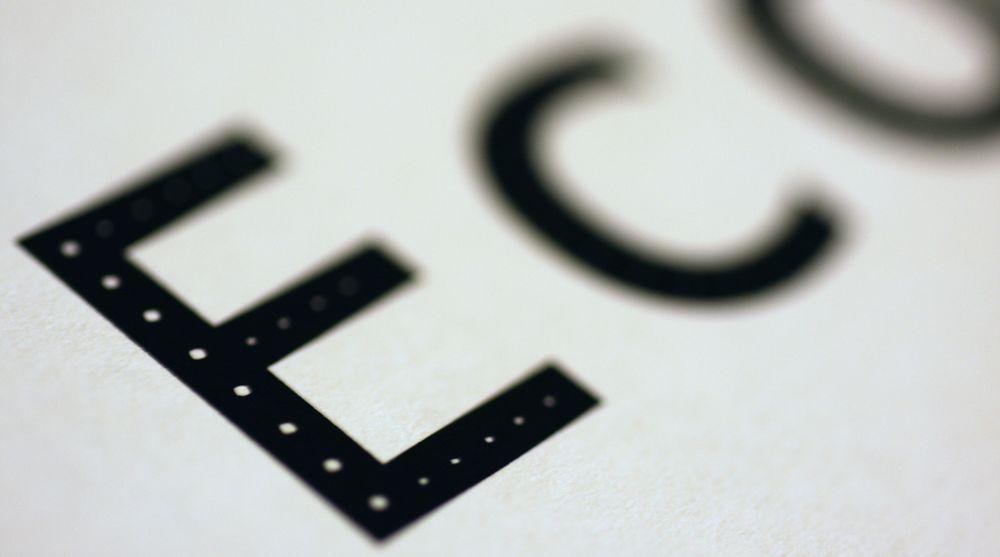 Sveitserost: Ecofont gir opp til 20 prosent billigere utskrifter.
