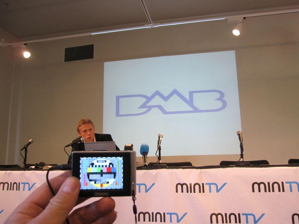 SJEFEN I LOMMA: Mini-TV blir navnet på selskapet som skal testsende seks TV-kanaler i østlandsområdet de neste to årene og ledes av Gunnar Garfors.