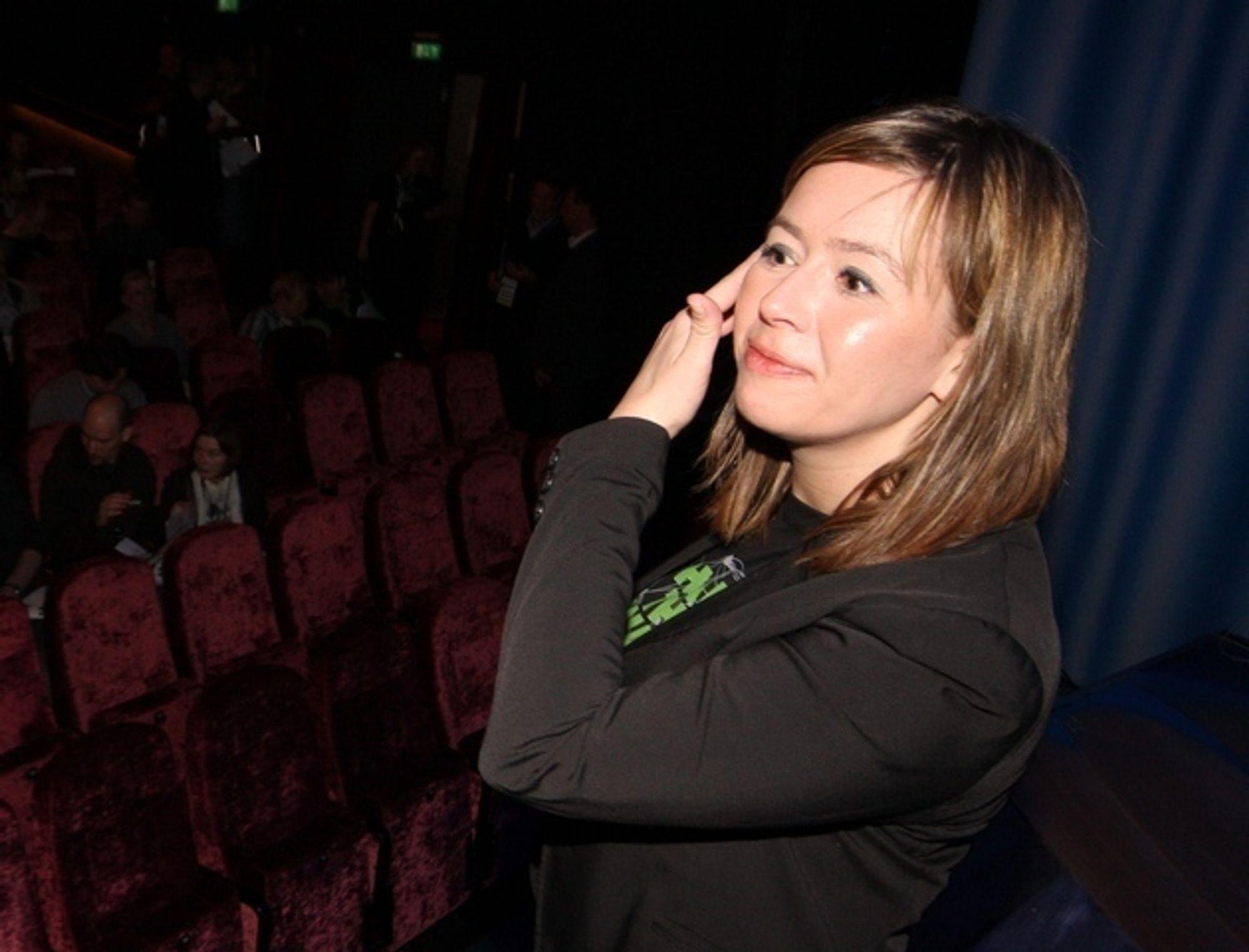 Ta tak: Friprogdirektør Heidi Austlid mener dommen mot Pirate Bay gir en signal om at samfunnet må finne en praktisk måte å håndtere beskyttet digitalt innhold på.