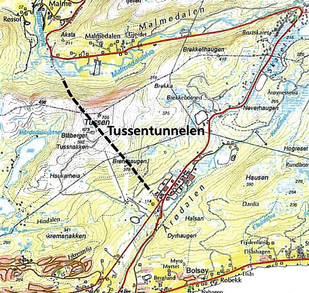 Både elektroentrerpenører og tradisjonelle entreprenører vil oppgradere Tussentunnelen. Det laveste anbudet er gitt av iElektro fra Molde.
