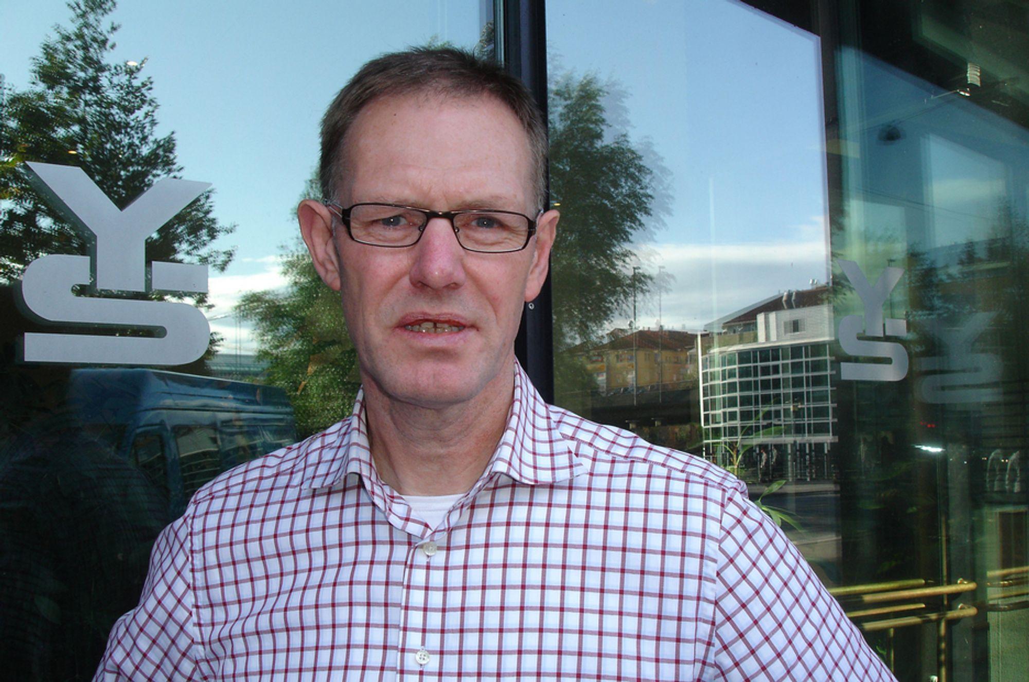 TALL: YS-leder Tore Eugen Kvalheim er bekymret.