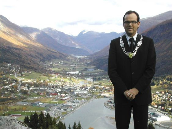 Nils Petter Støyva, ordfører Stryn kommune