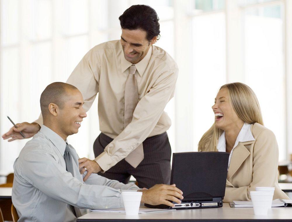 ADVARSEL: Finanskrisa kan fungere som en lyddemper på arbeidsplassene.