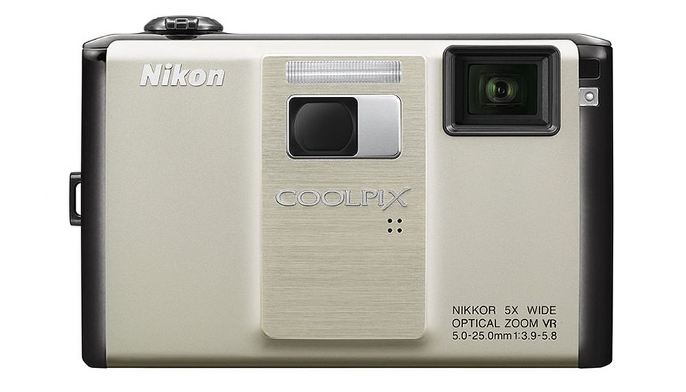 Nikon Coolpix S1000PJ er verdens første digitalkamera med innebygget projektor.