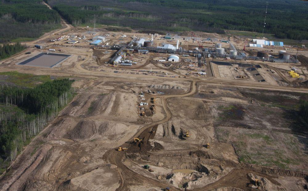 Store reserver: Statoil har mer enn 2 milliarder fat olje i kanadisk oljesand.