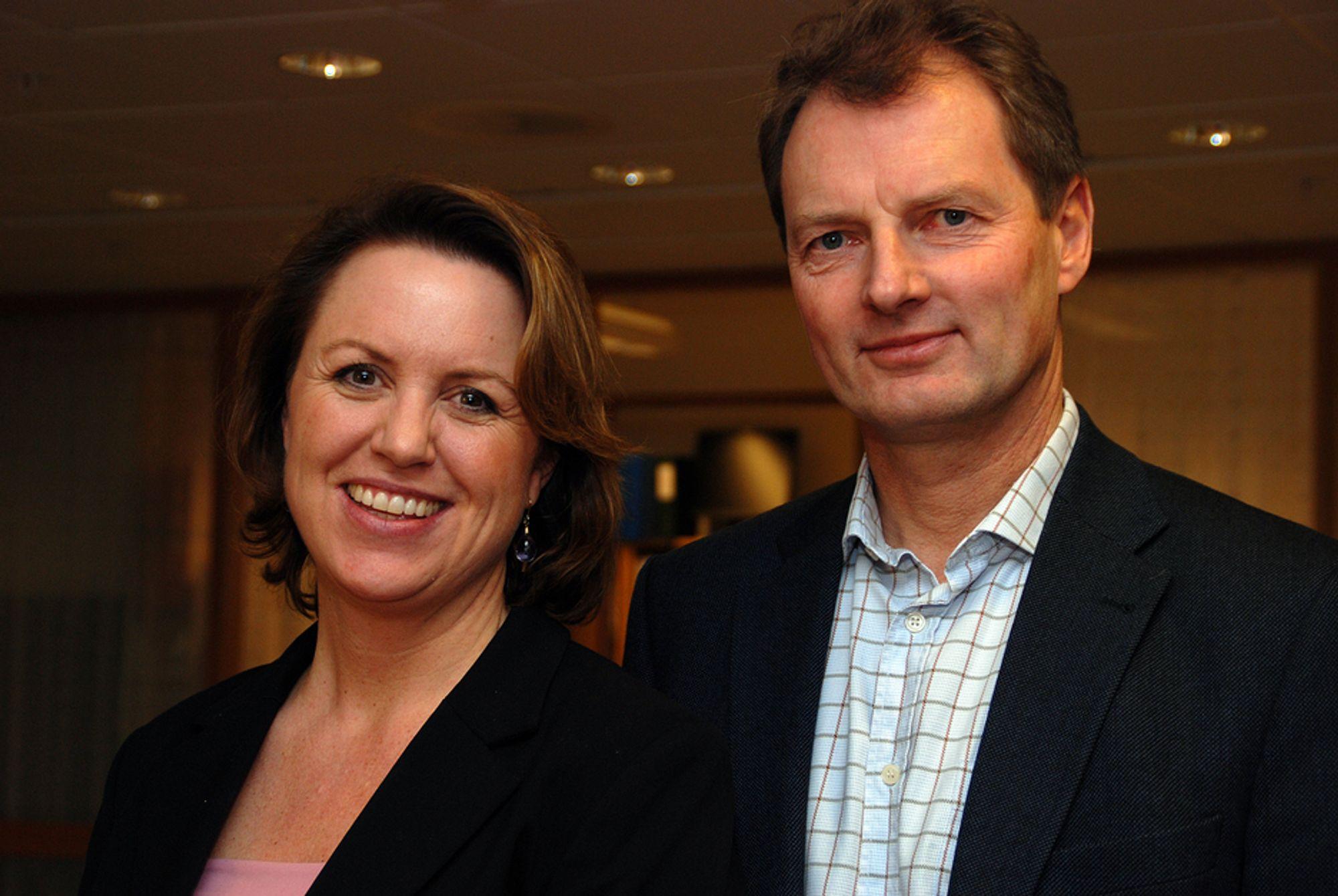 Administrerende direktør i RIF, Liv Kari Hansteen, og RIFs styreleder Øyvind Mork, mener Regjeringen bør gripe muligheten og bevilge penger til prosjekter som faktisk er klare til oppstart.