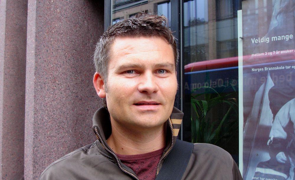 FORSIKTIG: Forskningsleder Roger Bjørnstad i SSB.