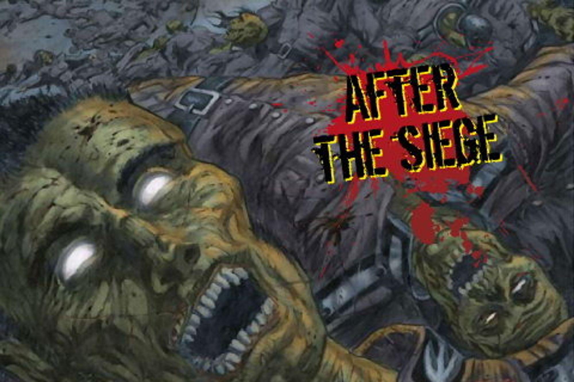 Cory Doctorows novelle «After the siege» ble lisensiert til tegneserieforlaget IDW, og tegneserien ble lansert i en egen mobilutgave for iPhone og Android mobiler.