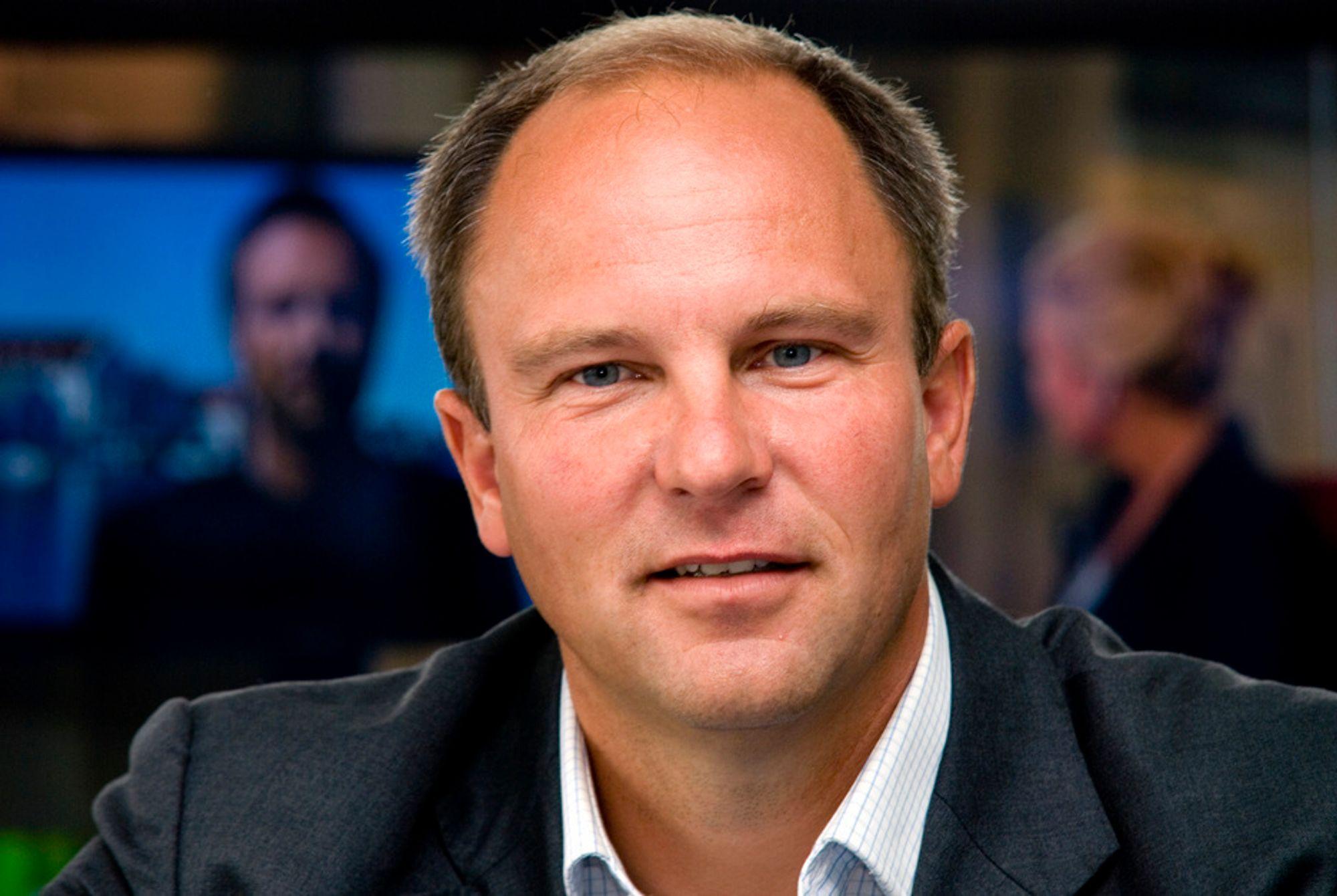 PLASS NOK: RiksTV-sjef Espen Thorsby sier selskapet har plass nok i sitt frekvensspekter.
