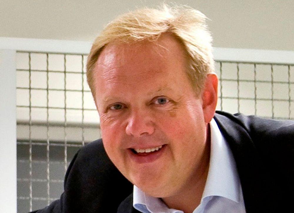 FREMOVER: Prosjektleder Odd Myklebust i Arena Bil understreker at det er viktig å tenke langsiktig også i disse tider.