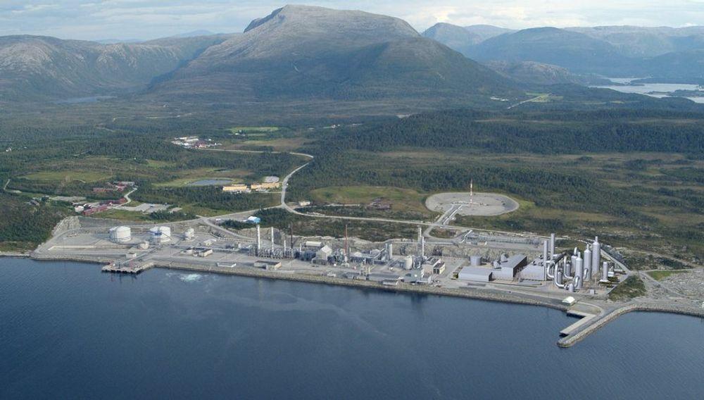NY AKTIVITET: Tilgjengelig naturgass gjør at LKAB vurderer å bygge et nytt jernverk på Tjeldbergodden.