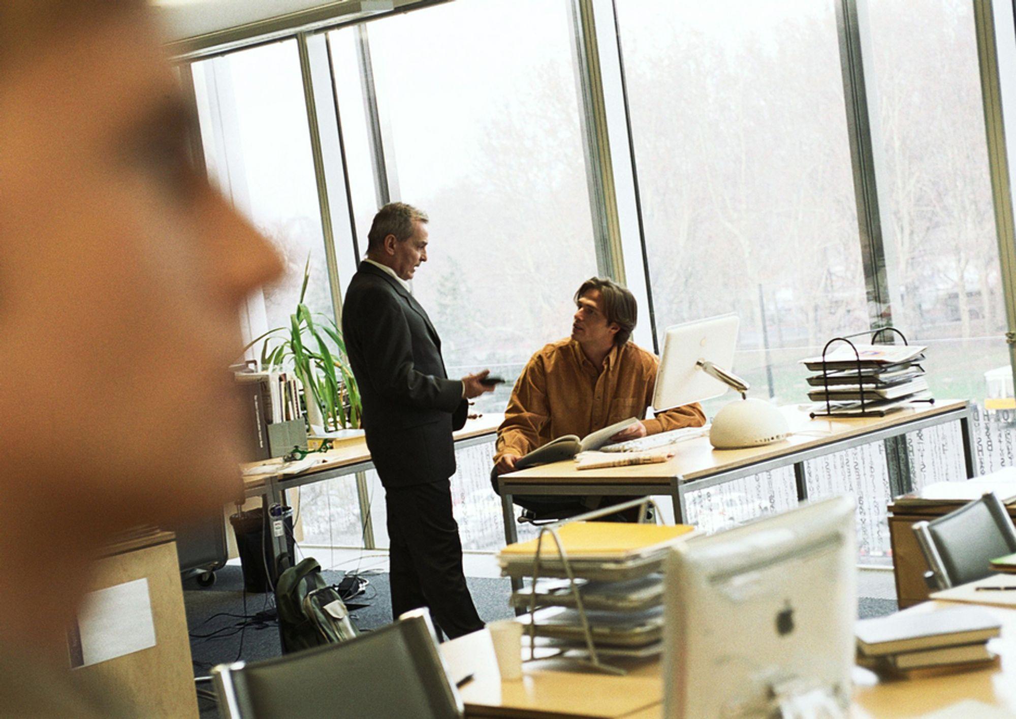 1 av 4 kan ikke jobbe uforstyrret på kontor. I åpent landskap er det tallet oppe i 44 prosent, viser en svensk undersøkelse.