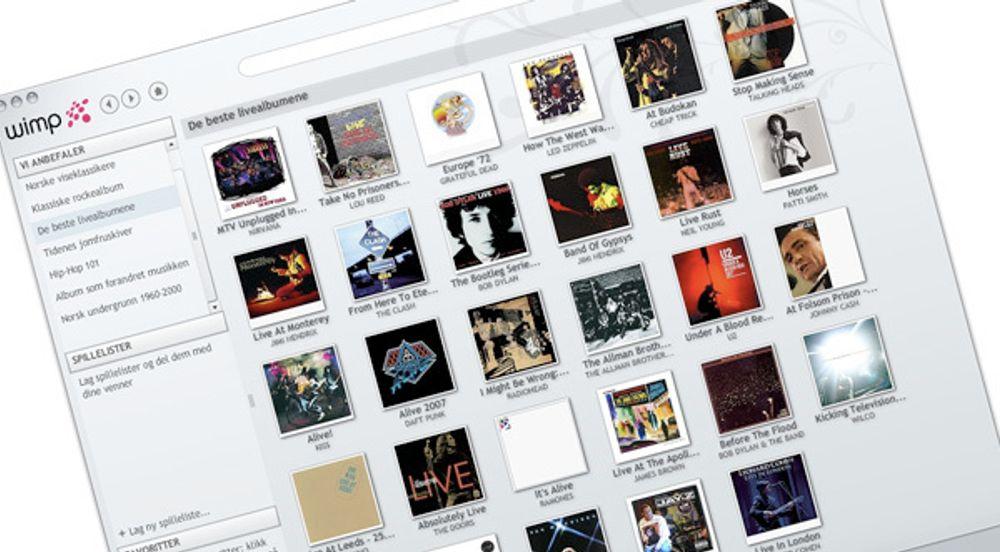 Wimp er i beta, men allerede en verdig konkurrent til Spotify