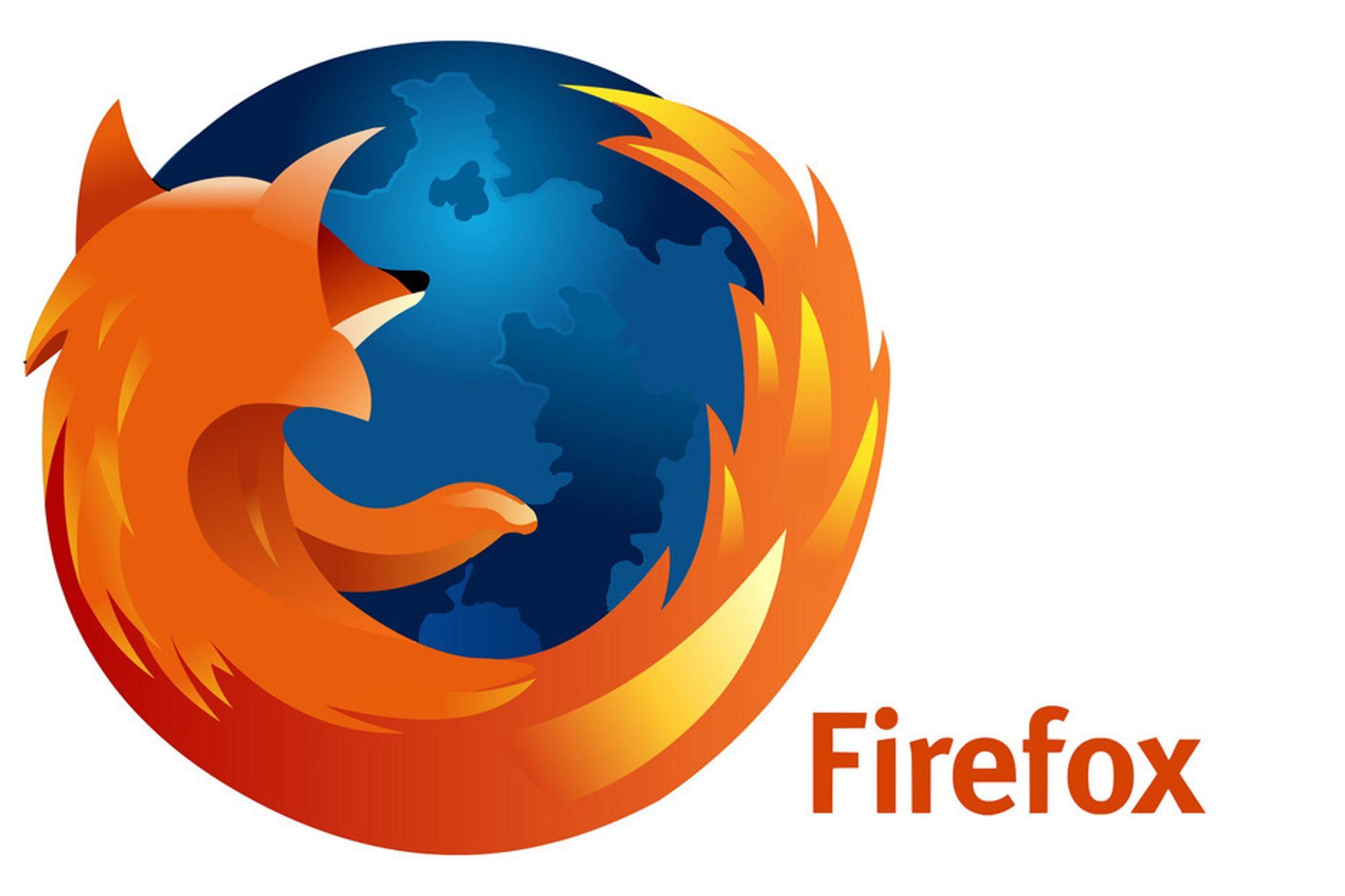 Firefox er lastet ned en milliard ganger.