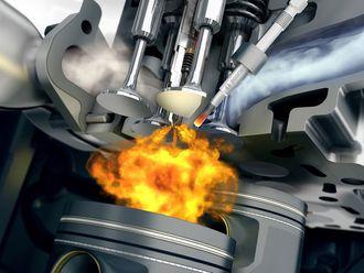 Bosch har utviklet et system som ved hjelp av vanninnsprøyting reduserer drivstofforbruket.