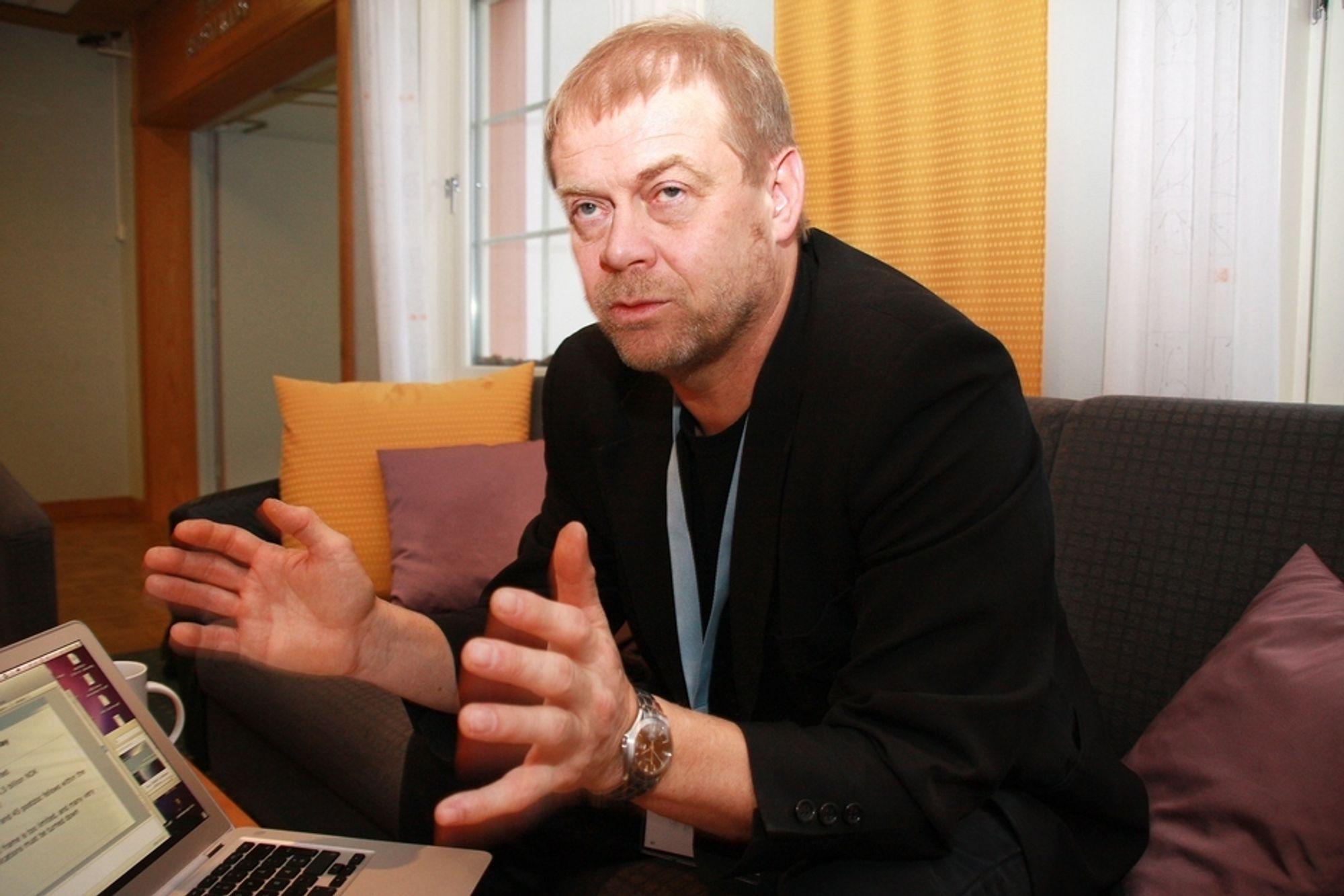 ENGSTELIG: Torbjørn Svendsen frykter at norsk IT-forskning stopper opp på grunn av pengetørke.